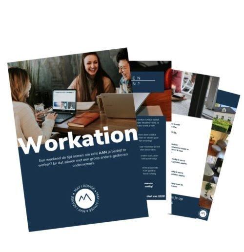 Workation, werken aan je bedrijf.